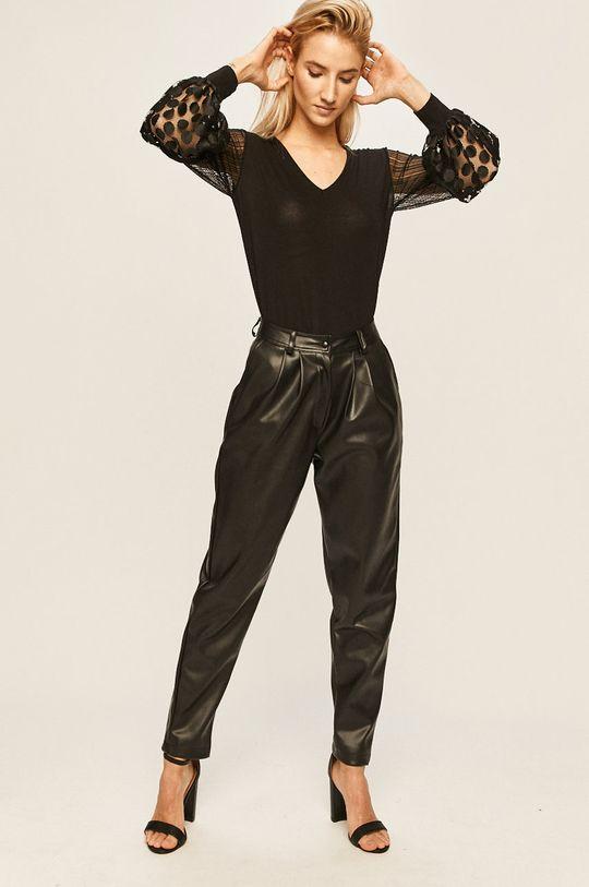 czarny Answear - Spodnie Damski