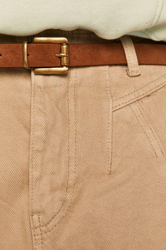 beżowy Answear - Spodnie