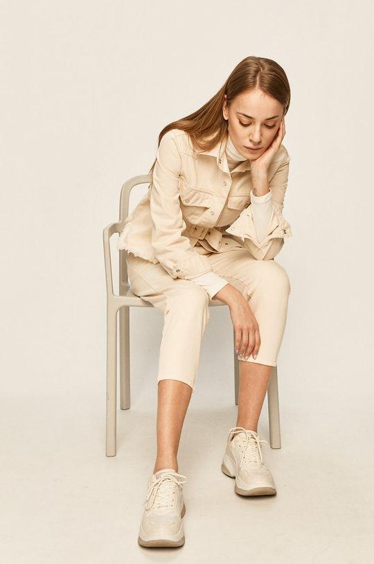 kremowy Answear Lab - Spodnie Damski