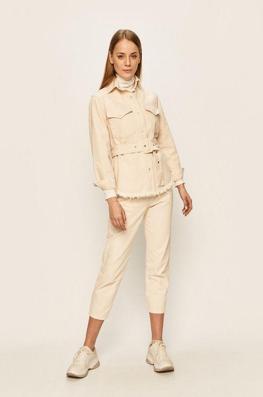 kremowy Answear Lab - Spodnie