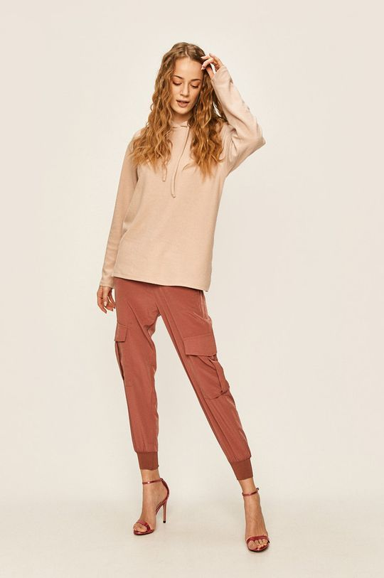 Answear - Pantaloni roz