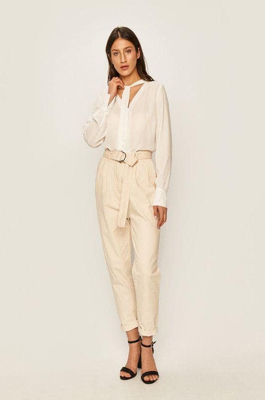 Answear - Spodnie kremowy