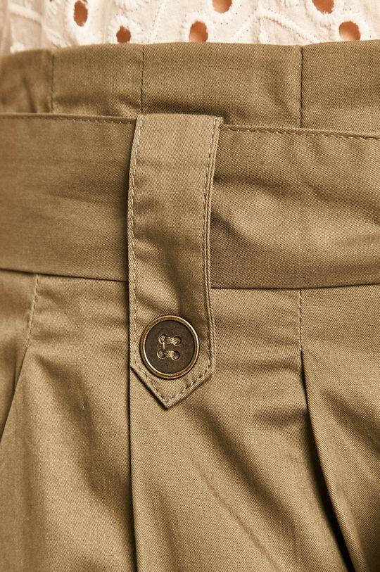 zielony Answear - Spodnie