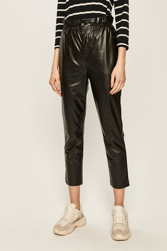черен Answear - Панталони Жіночий