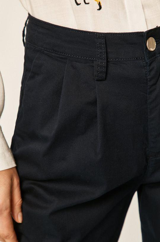 námořnická modř Answear - Kalhoty