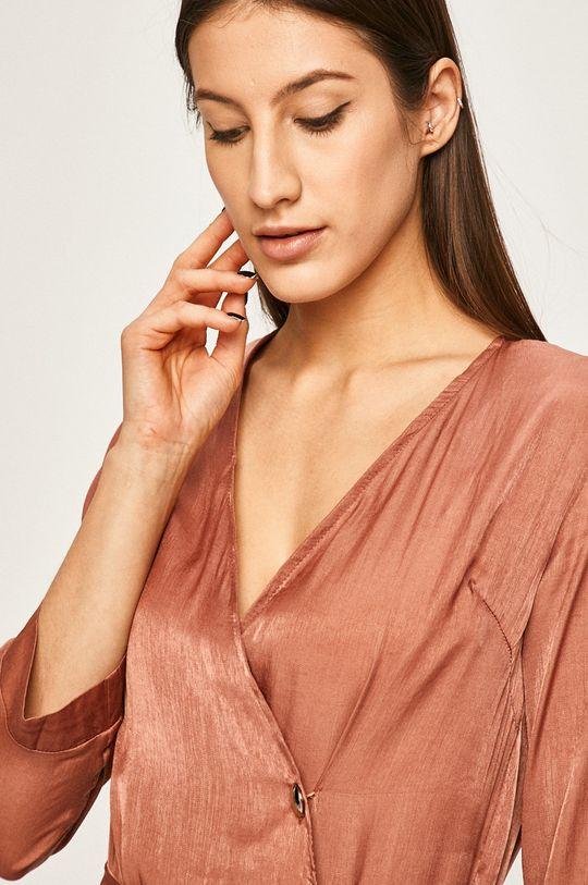 różowy Answear - Sukienka