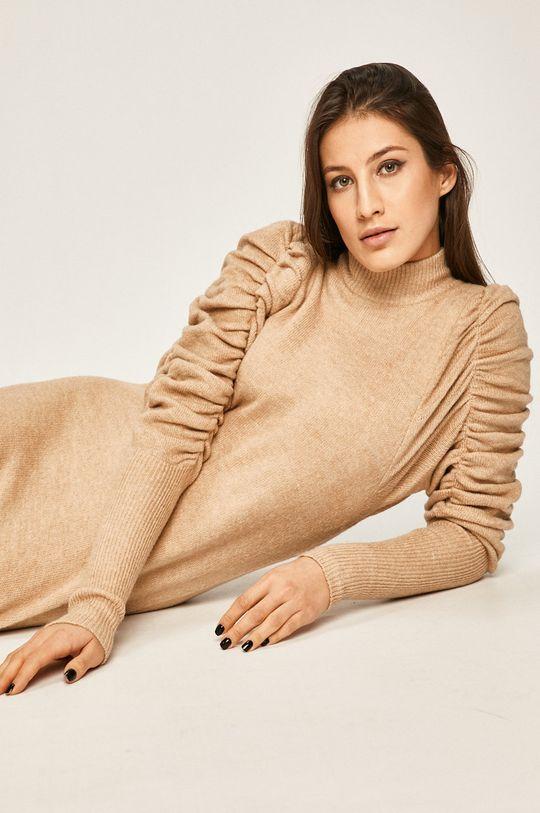 бежевий Answear - Сукня Жіночий