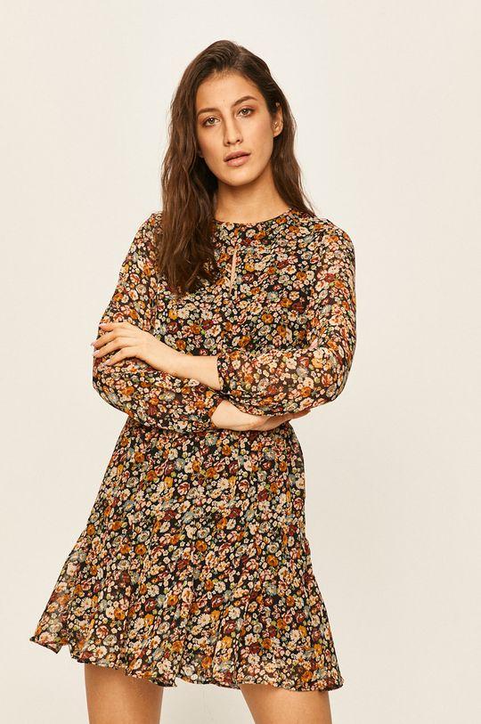 барвистий Answear - Сукня
