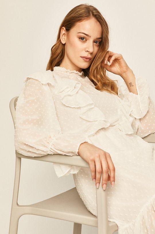 biela Answear - Šaty Dámsky