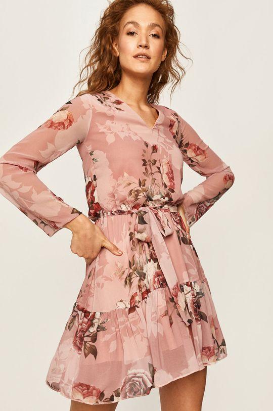 różowy Answear - Sukienka Damski