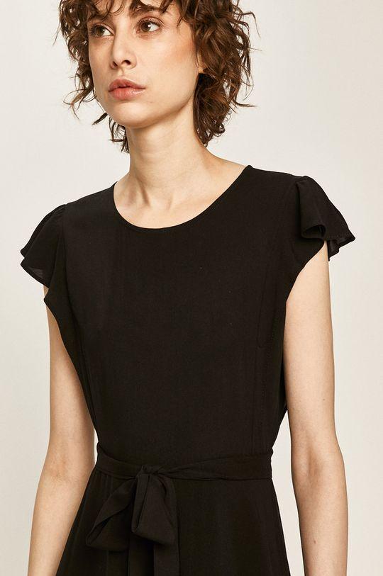 černá Answear - Šaty