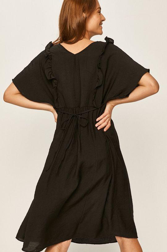 Answear - Сукня  50% Льон, 50% Поліестер