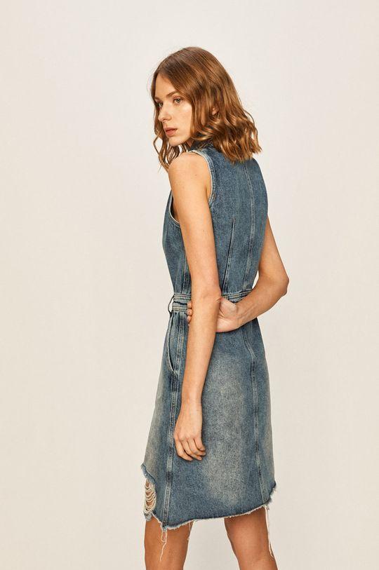 Answear - Rifľové šaty  100% Bavlna