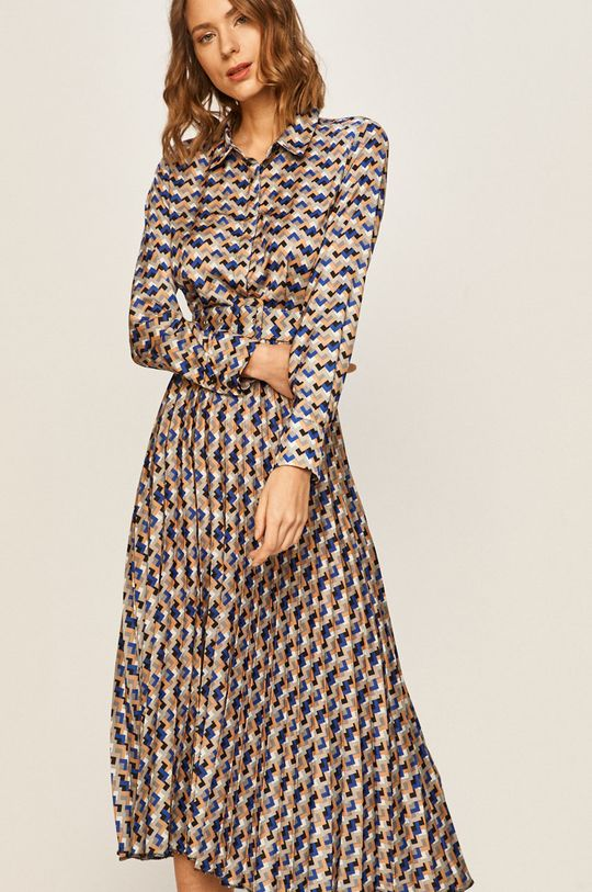 viacfarebná Answear - Šaty