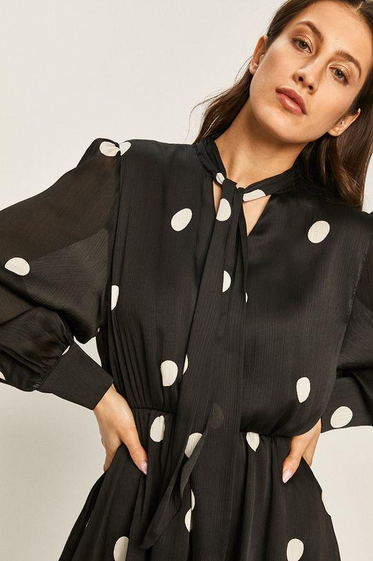 čierna Answear - Šaty