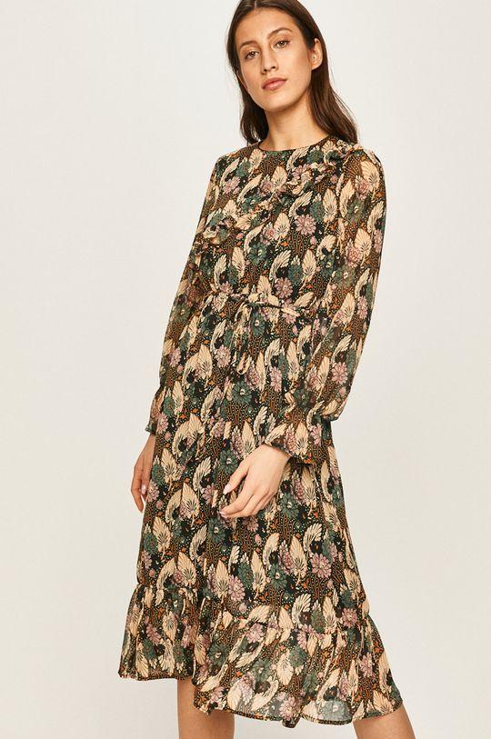 viacfarebná Answear - Šaty Dámsky