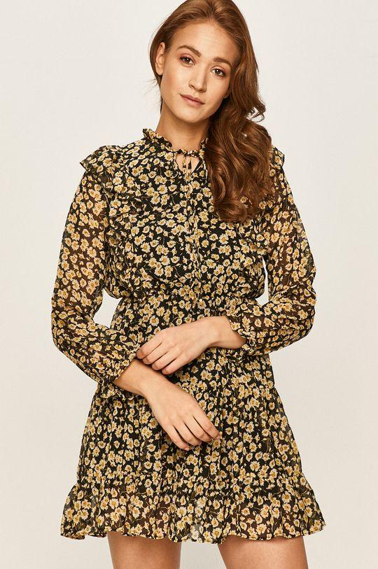 żółty Answear - Sukienka
