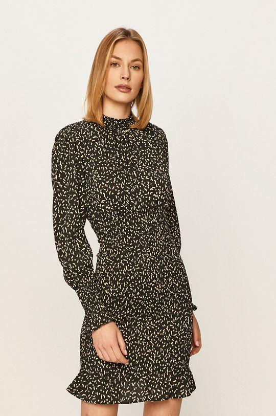 czarny Answear - Sukienka Damski