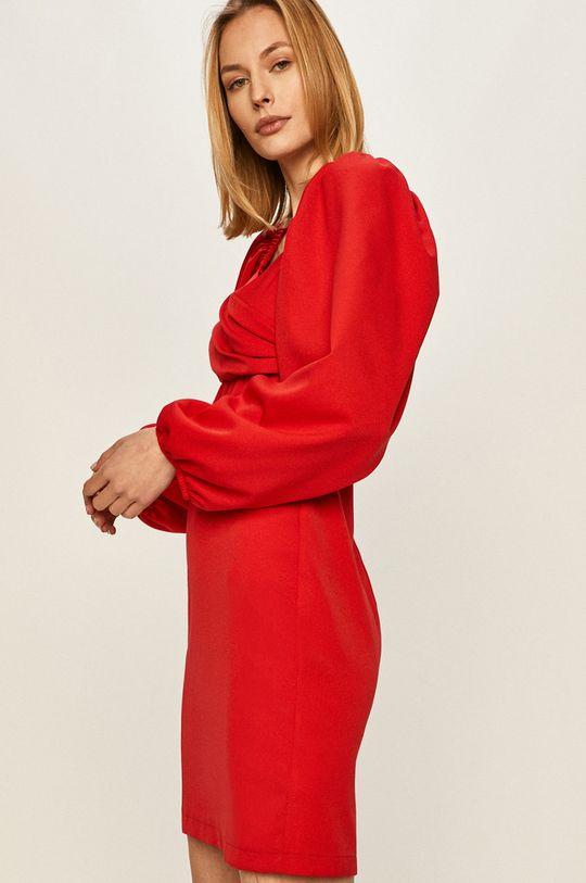 czerwony Answear - Sukienka