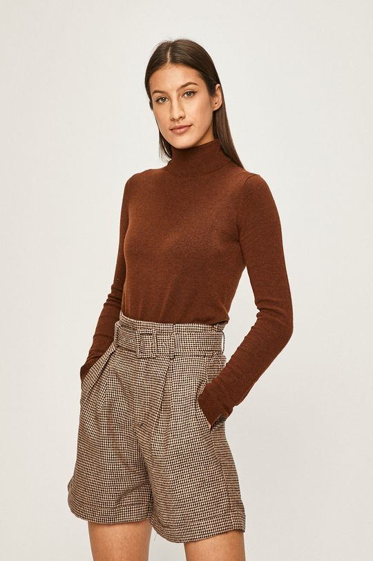 maro inchis Answear - Pulover De femei