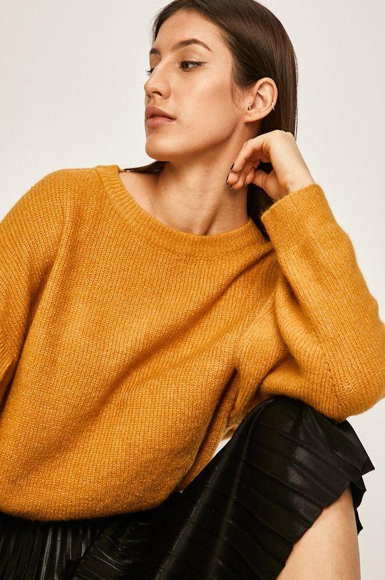 żółty Answear - Sweter Damski