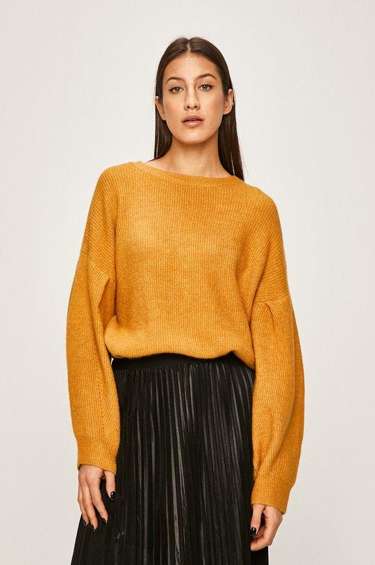 żółty Answear - Sweter