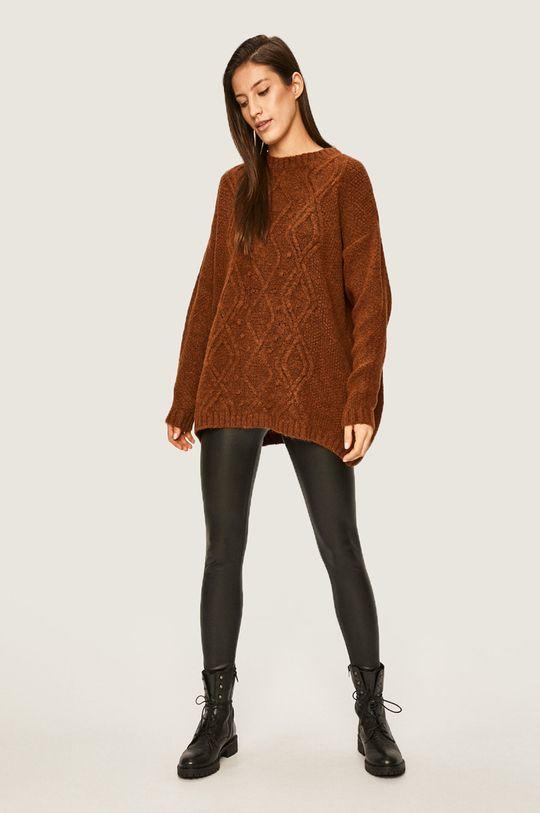 Answear - Sweter beżowy