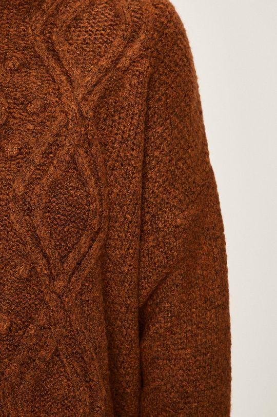 beżowy Answear - Sweter
