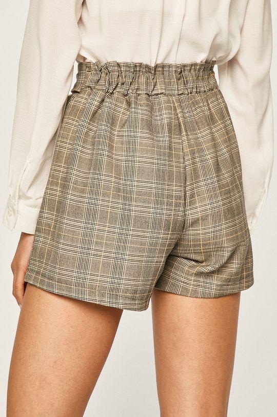 Answear - Pantaloni scurti 10% Bumbac, 5% Elastan, 85% Poliester