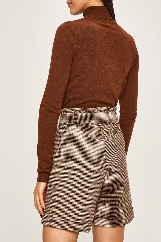 Answear - Pantaloni scurti 90% Poliester, 10% Lana