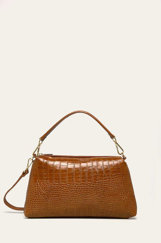 maro auriu Answear - Poseta de piele De femei