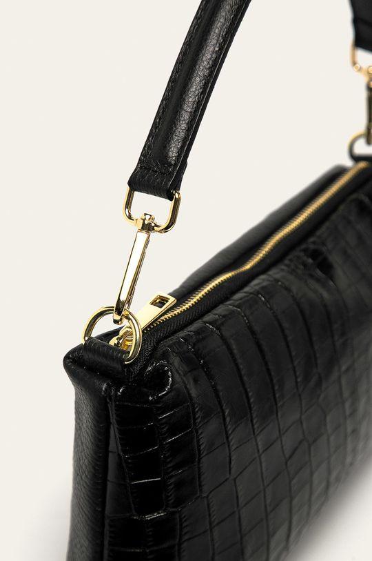 Answear - Poseta de piele negru