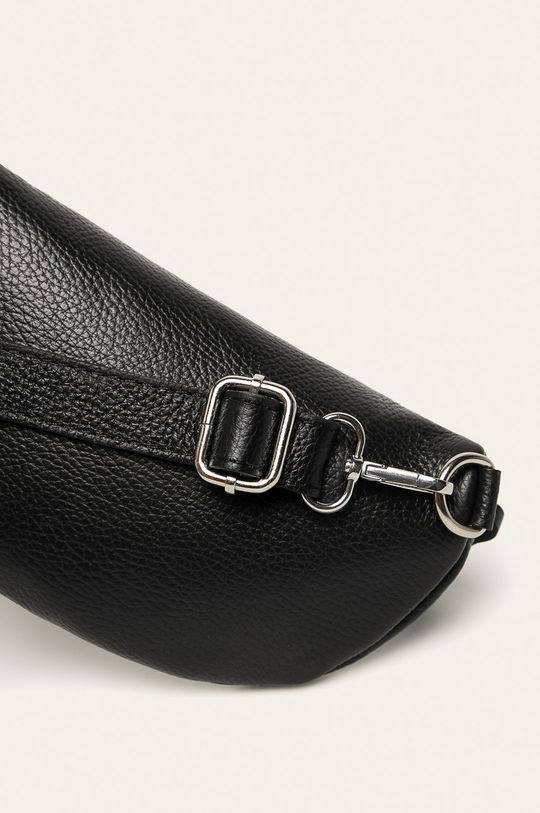 Answear - Borseta de piele negru