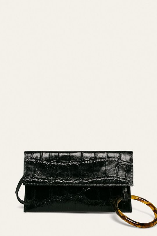 negru Answear - Poseta piele De femei