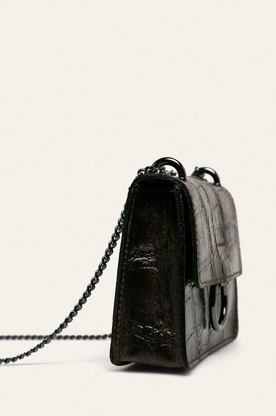 Answear - Poseta de piele maro inchis