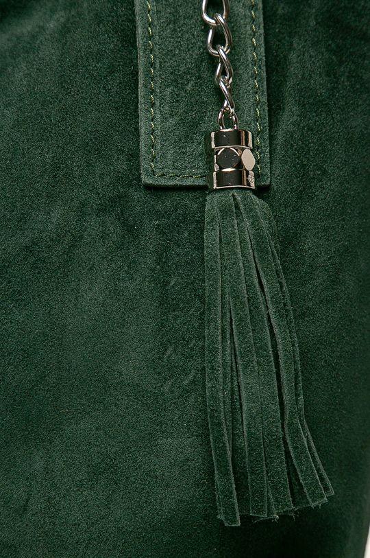 Answear - Poseta de piele verde