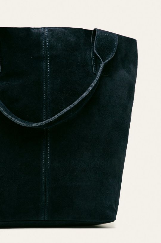 Answear - Poseta de piele bleumarin