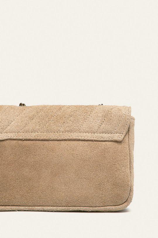 Answear - Кожена чанта  100% Велур