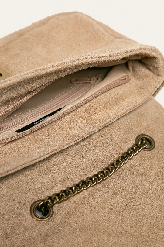 бежов Answear - Кожена чанта