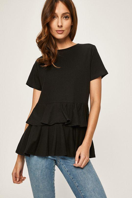 negru Answear - Tricou De femei