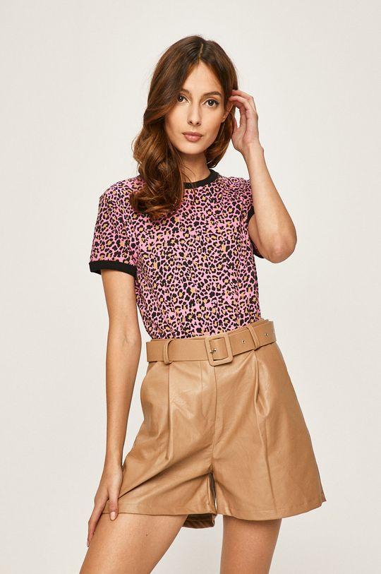 roz Answear - Tricou De femei