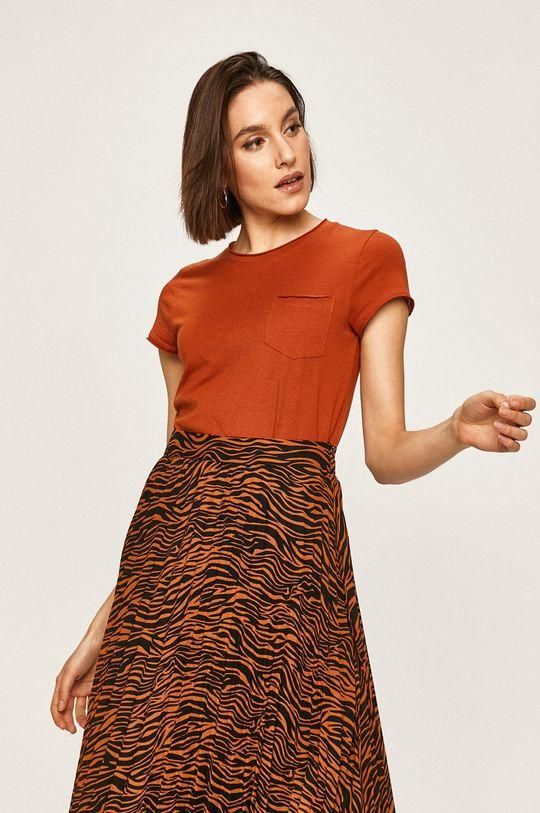 cupru Answear - Tricou De femei