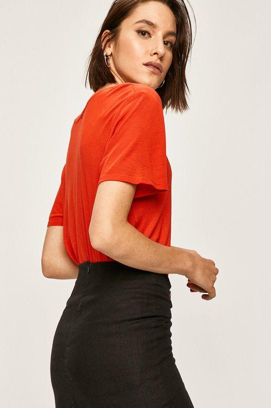 rosu Answear - Tricou De femei
