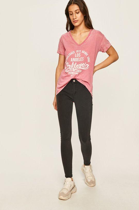 Answear - Tričko ružová