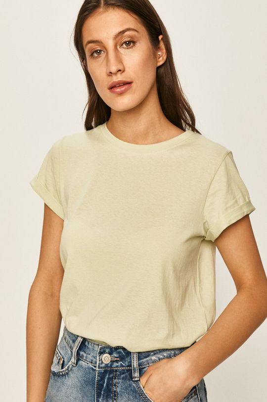 svetlozelená Answear - Tričko