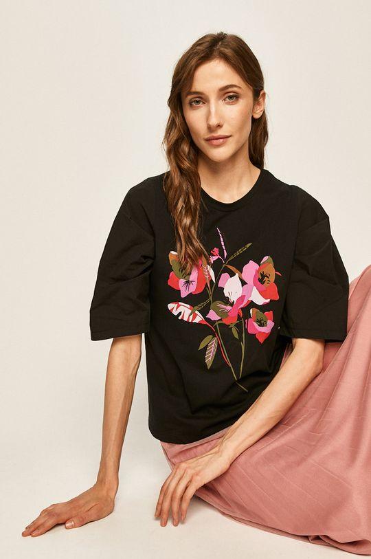 черен Answear - Тениска Жіночий