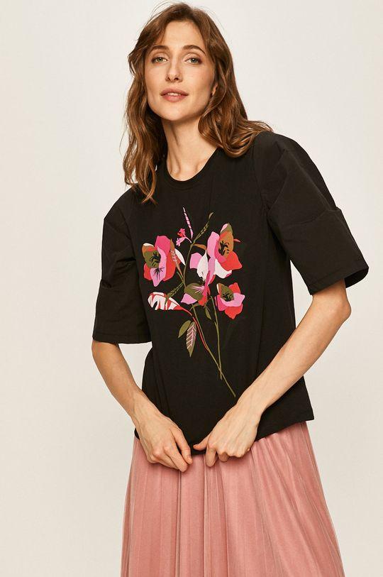 черен Answear - Тениска