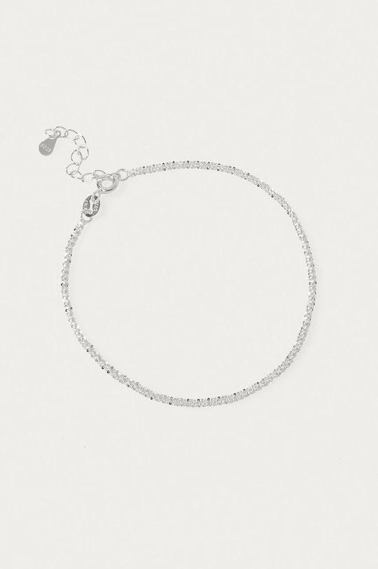 Answear Lab - Bransoletka srebrna srebrny