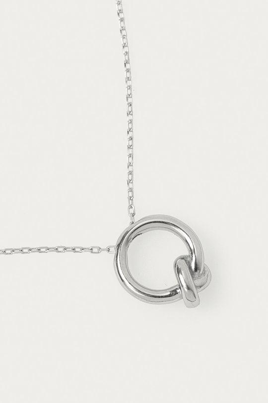 Answear Lab - Naszyjnik srebrny 100 % Srebro