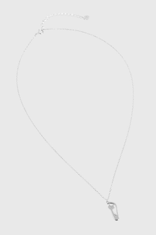 Answear Lab - Naszyjnik srebrny srebrny